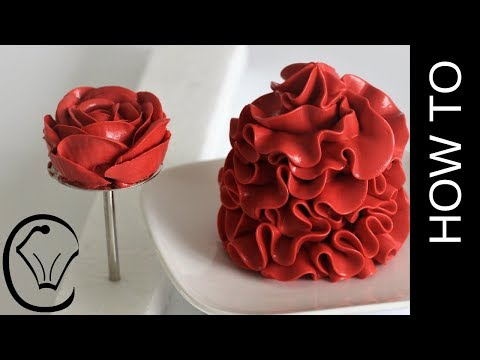 Stable Red Condensed Milk Buttercream Frosting Valentine Red Buttercream