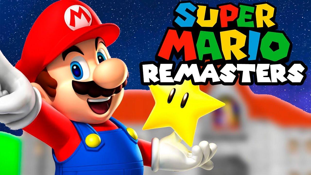 The Super Mario Remasters...