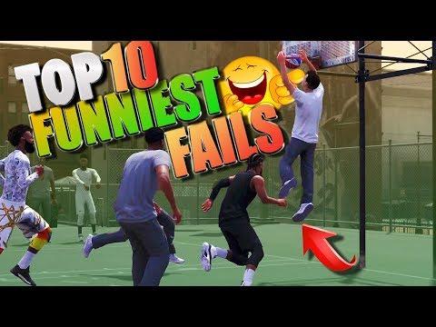 """TOP 10 FUNNIEST FAILS Of The """"WEAK""""! - NBA 2K18 Highlights"""