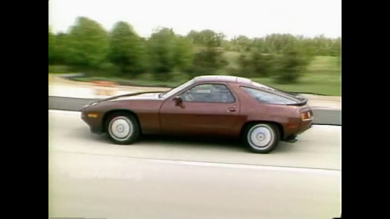 MotorWeek | Retro Review: '85 Porsche 928S - YouTube