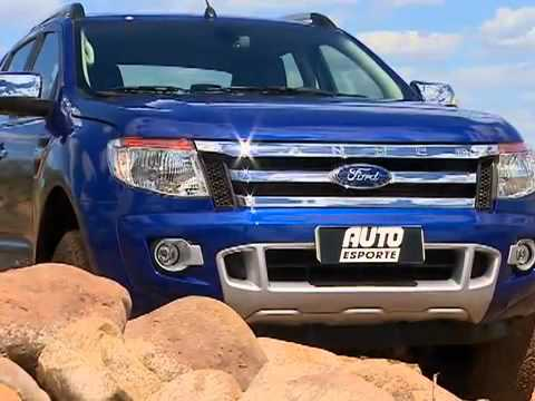AutoEsporte testa a nova picape Ranger
