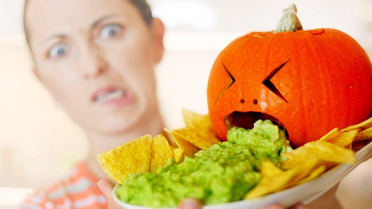 ЛАЙФХАК НА ХЭЛЛОУИН: ТЫКВУ ВЫРВАЛО? / HalloweenXTRA 11