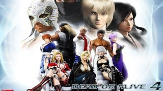 Dead or Alive 4 - All Endings (HD)