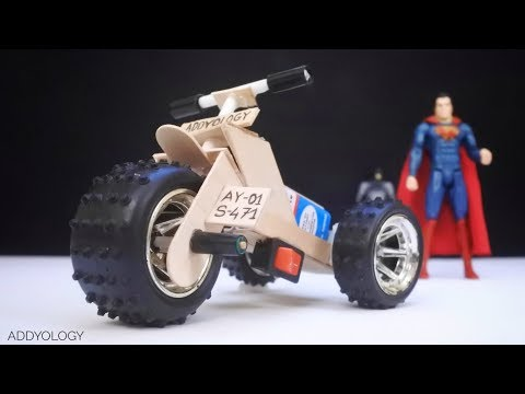 How To Make A Toy Motorcycle - Amazing DIY Motorcycle