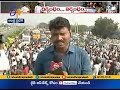 Farmers Block Highway | at Chinakakani | Heavy traffic jam Download and Watch HD Mp4 3GP