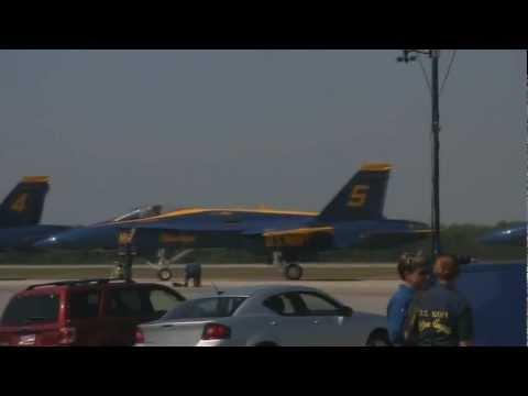 Blue Angels Warner Robins 2012