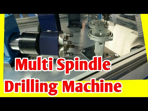 Multi Spindle Drilling Tapping Machine.