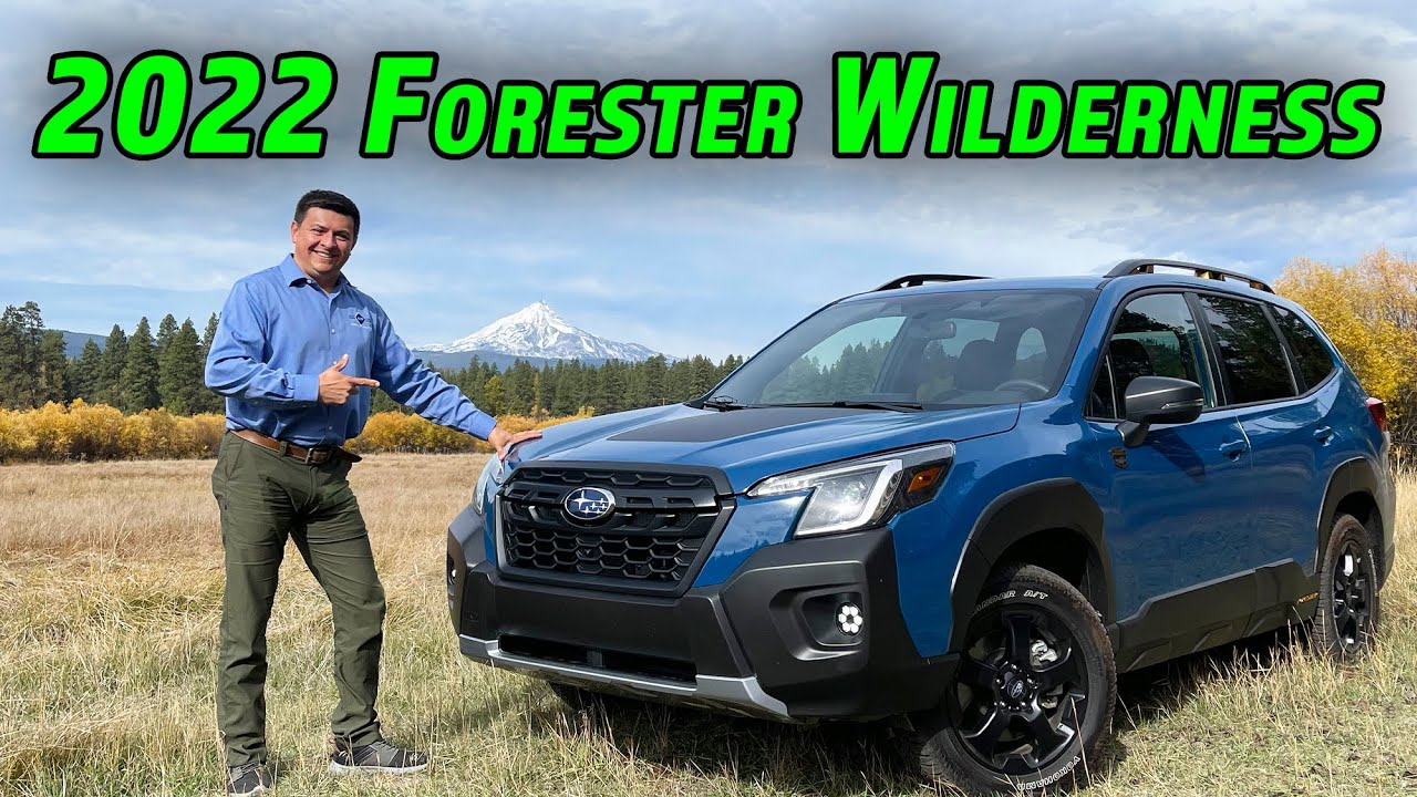 Download The Most Rugged Forester Ever | 2022 Subaru Forester Wilderness