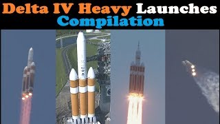 connectYoutube - Delta IV Heavy Rocket Launch Compilation 🚀 | Go To Space