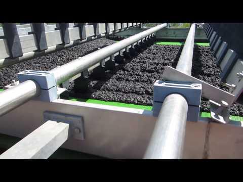 3 Meter Belt Press Dewatering Coal Tailings