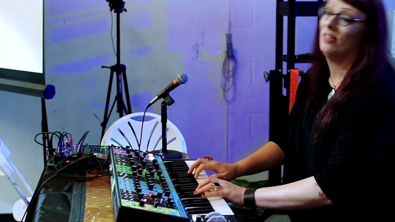 Lisa Bella Donna Improvisation At The Brooklyn Synth Expo (Excerpt)