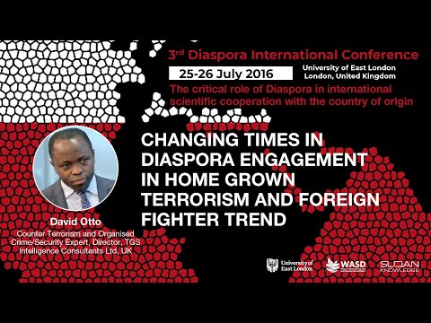 Changing times in diaspora engagement in home grown terrorism and foreign fighter trend