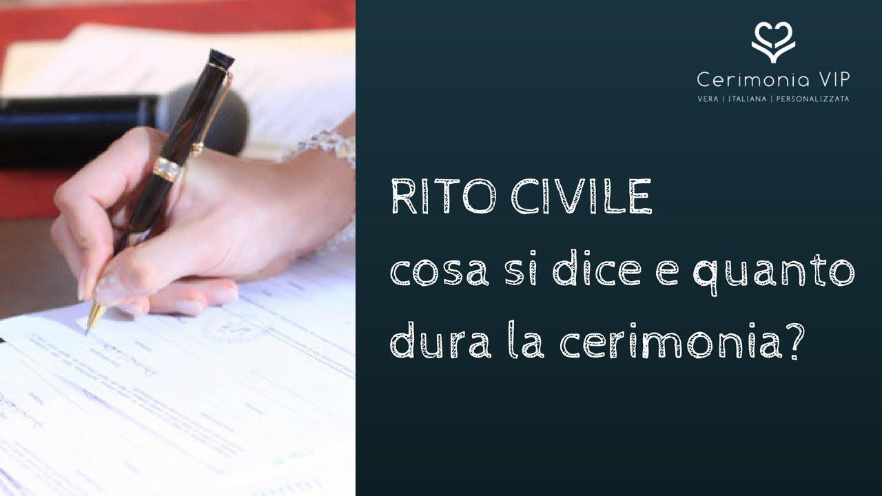 Certificato Matrimonio Simbolico : Qual è la differenza tra rito civile e simbolico ecco quello che