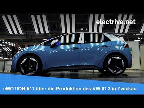 eMOTION #11 über die Produktion des Volkswagen ID.3 in Zwickau