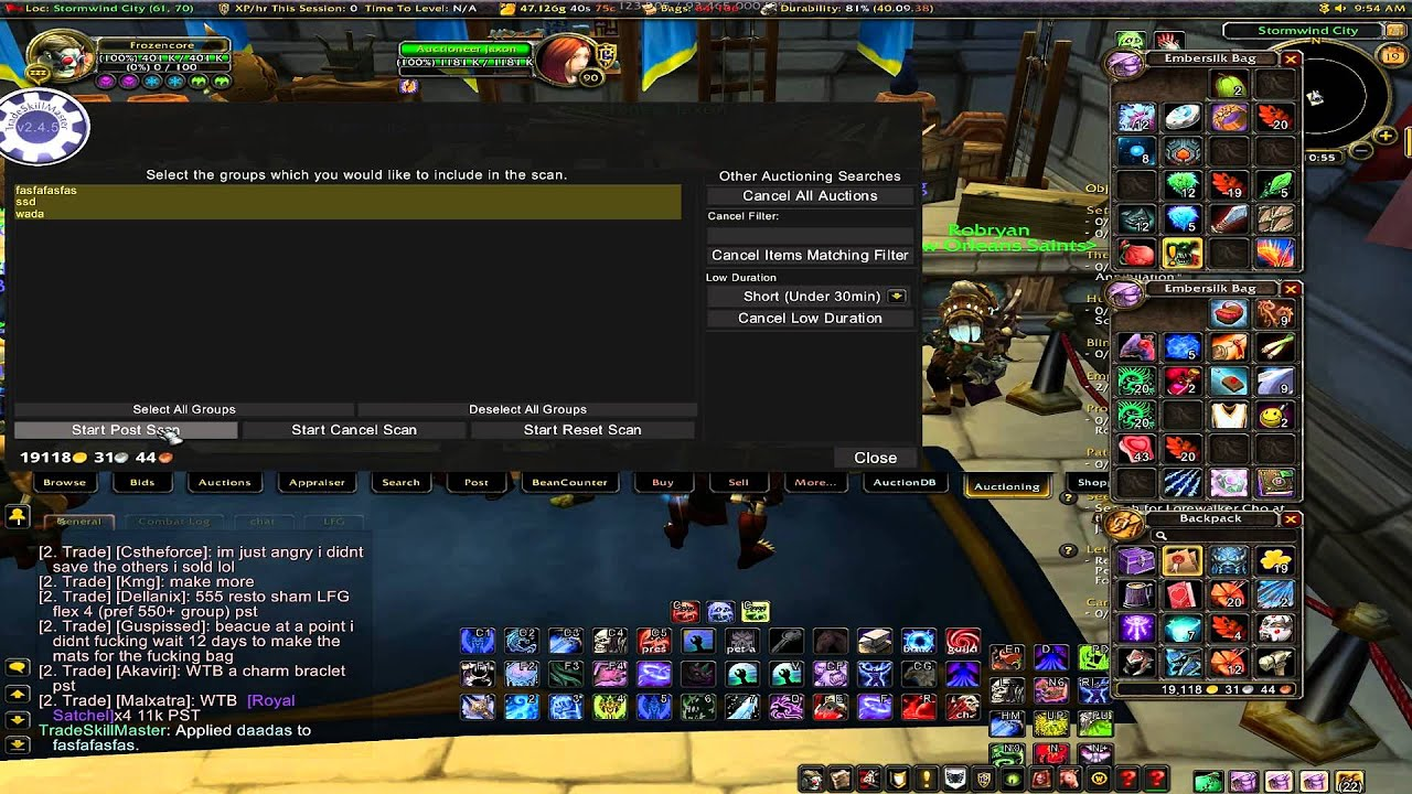 wow best auction addon 2020 WoW Addons  Tradeskillmaster Best AH Addon Easiest Guide   YouTube