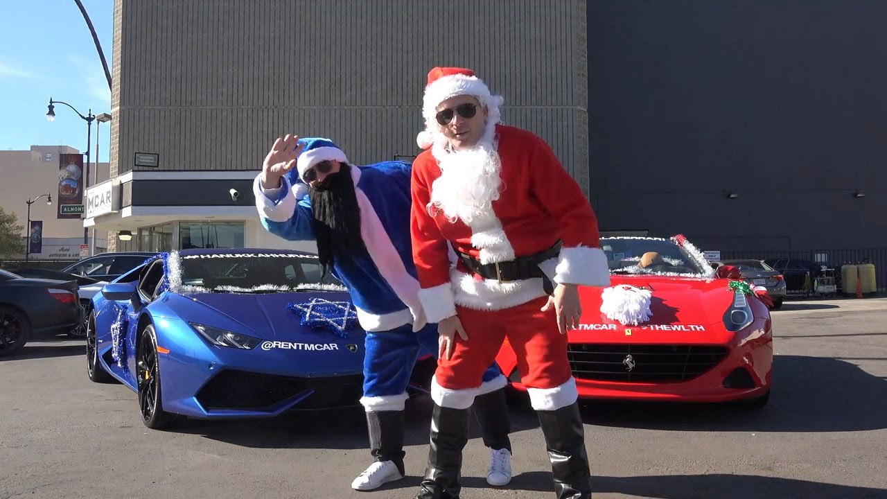 Christmas ferrari and hannukah lambo youtube for Ferrari christmas