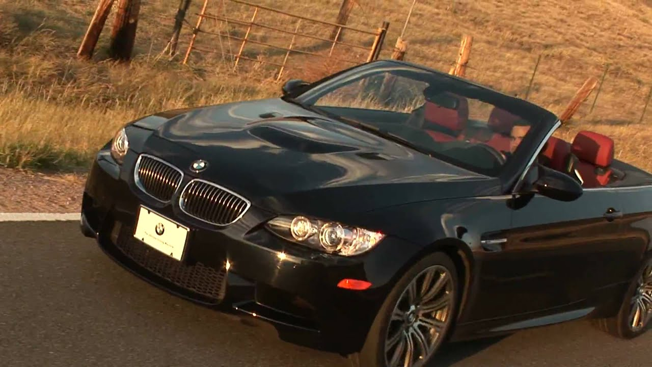 BMW 335I Convertible >> 2009 BMW M3 Convertible - YouTube
