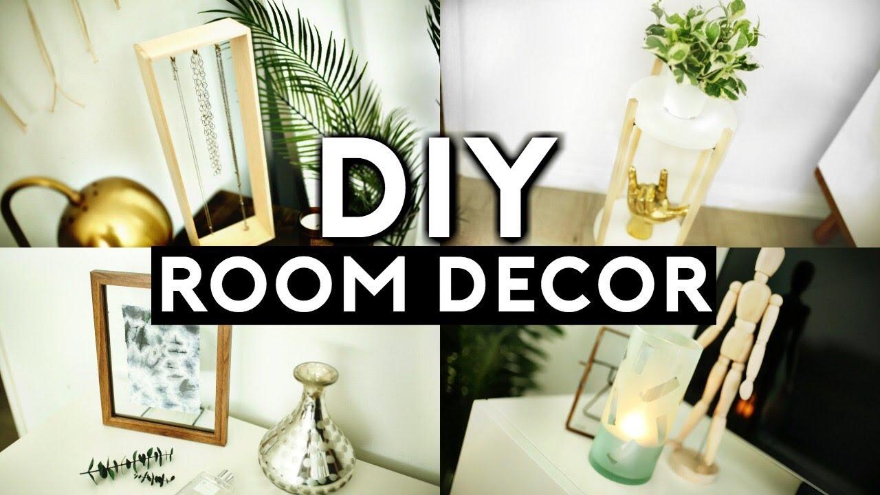 "DIY ROOM DECOR! (TUMBLR INSPIRED) MINIMAL & CHEAP 2017 ... on ""Room Decor""  id=42179"