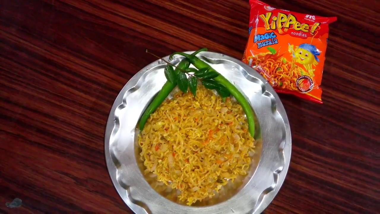 5 mins Special YiPPee Noodles Recipe | ലളിതമായ നൂഡിൽസ് ...