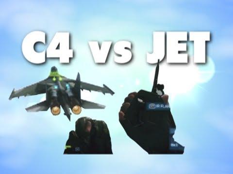 Battlefield 3 - C4 vs Jet