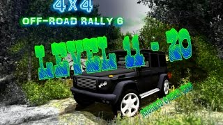 4x4 Off-Road Rally 6 - Level 11 - 20 - HD Android Gameplay - Off-road games - Full HD Video (1080p)