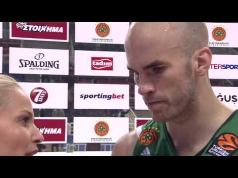 Post-game interview: Nick Calathes, Panathiniakos Superfoods Athens