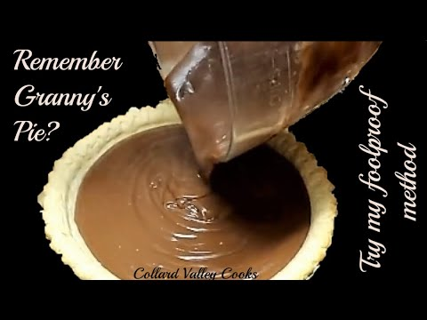 How We Make Chocolate Cream Pie, Best Old Fashioned Southern Pie Recipes
