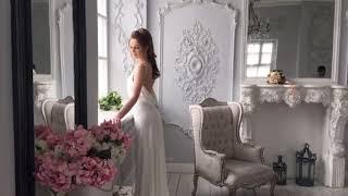 ВАУ КАКОЕ СВАДЕБНОЕ ПЛАТЬЕ! Свадебное платье прямое на лямках с открытой спиной