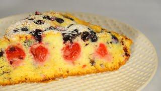 🍒 Пирог  с вишней Простой рецепт вкуснейшего пирога
