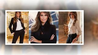 Melania Trump. First Lady of the United States