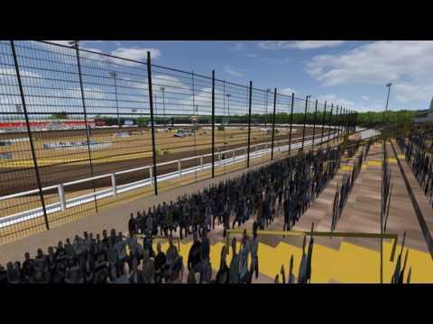 rFactor - Sprint Car Legends - New Egypt Speedway