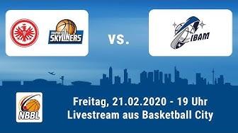 Livestream - NBBL Heimspiel der Eintracht Frankfurt / FRAPORT SKYLINERS gegen München