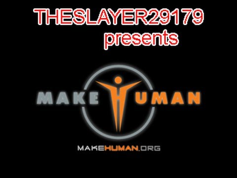 makehuman 1.0 alpha 5.1