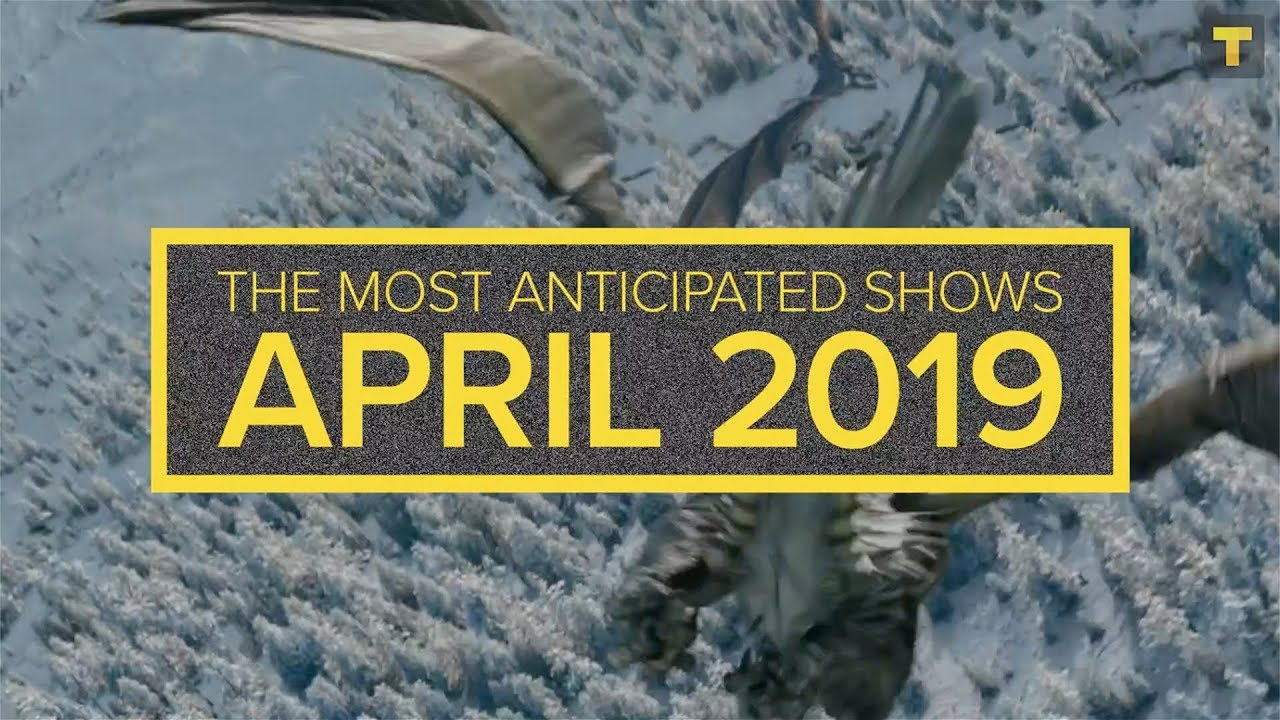 TV Time's Anticipation Report for April 2019