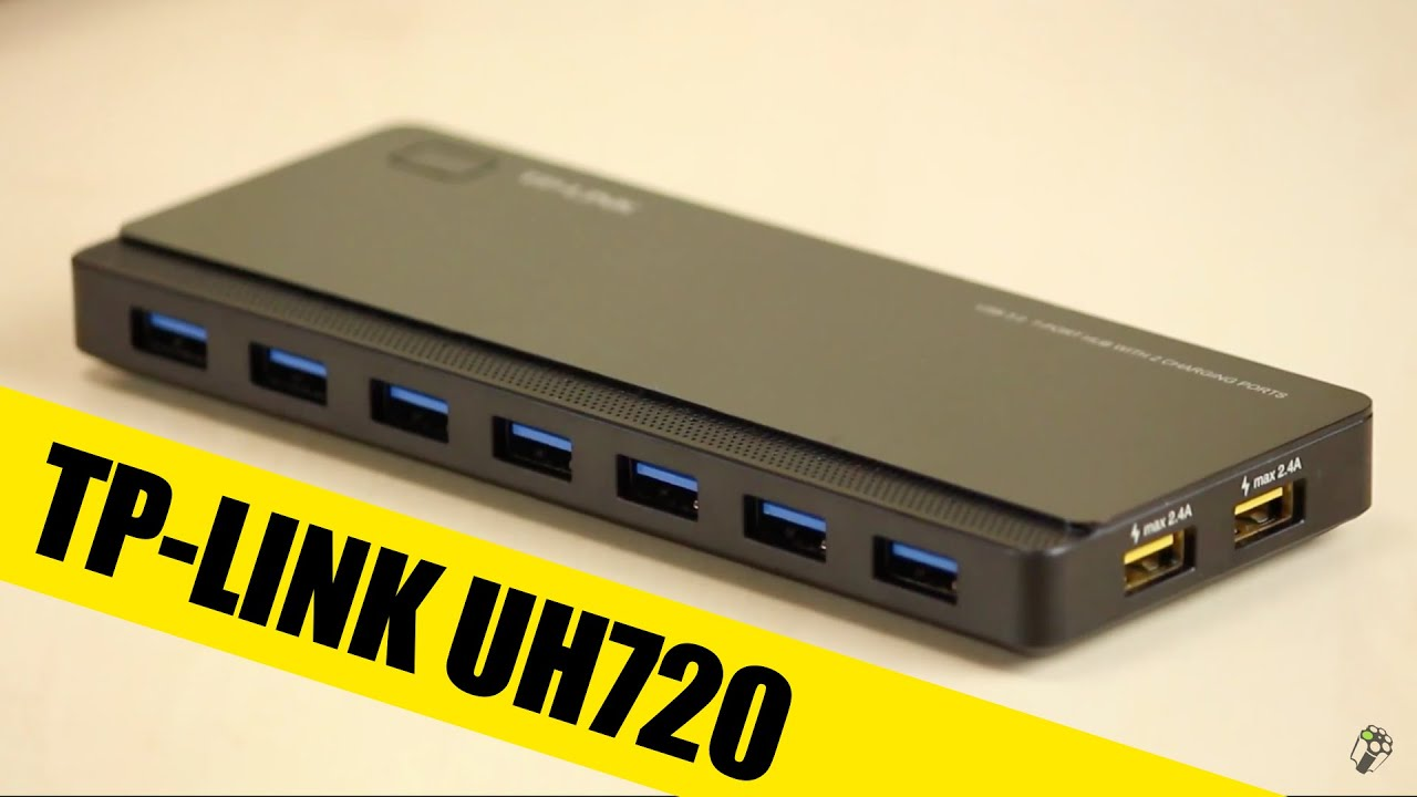 Must Have Tp Link Uh720 Usb 30 7 Port Hub Youtube