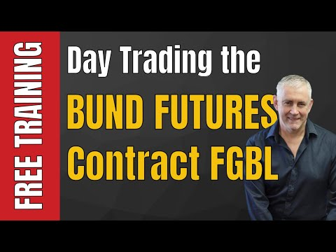 Day Trading the Bund futures contract  FGBL