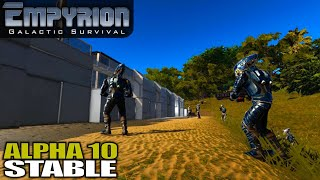 Alpha 10 First Day | Empyrion Galactic Survival | Space Survival Alpha 10 Gameplay | E01