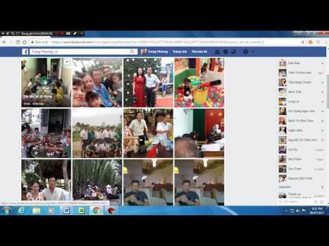 Cách Tải ảnh Từ Facebook Hoặc Từ Google Về Máy Tính