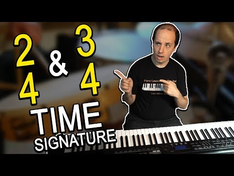 Time Signatures in Music: 3/4 and 2/4 Time Signatures - A Rhythm Lesson for Beginners