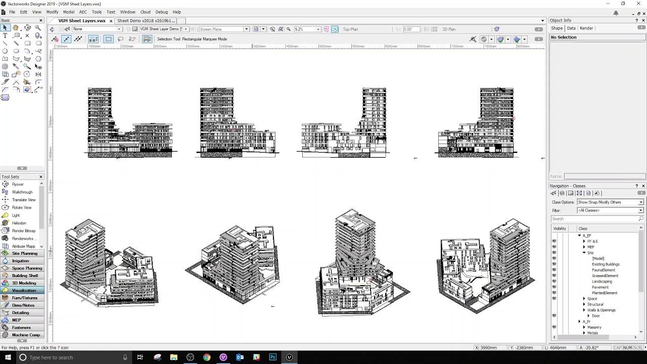 teaser vectorworks graphic module
