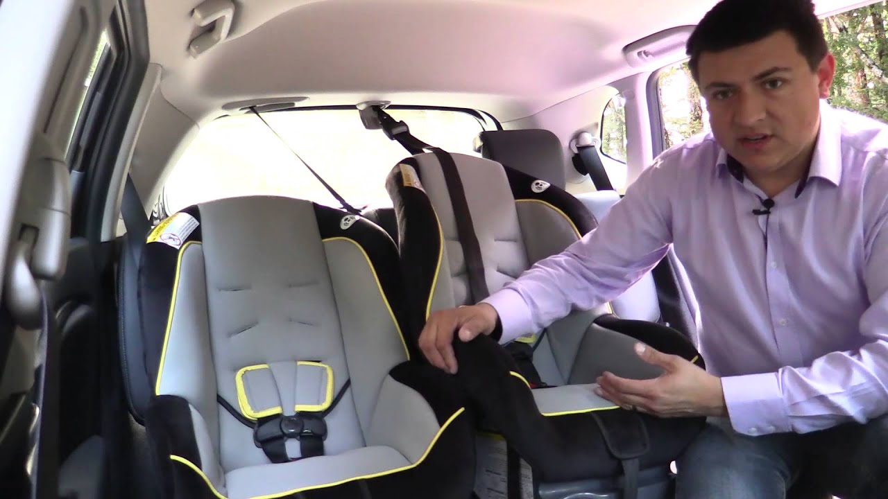 2015 Honda Fit Child Safety Seat Review - YouTube