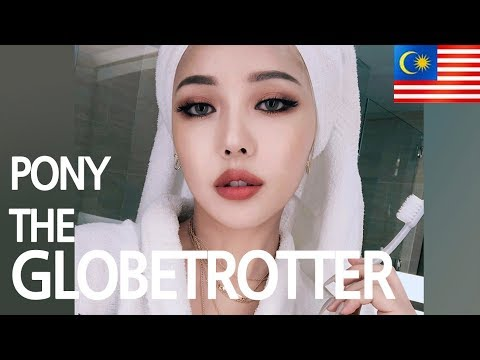 PONY THE GLOBETROTTER + GRWM (With subs) Kuala Lumpur 쿠알라룸푸르 GRWM