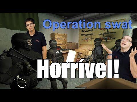Os Piores Jogos da Steam - CS que se cuide, chegou a hora do Operation swat!