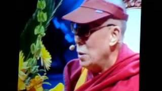 Dalai Lama Toronto Rogers Centre October 22 2010.MOV