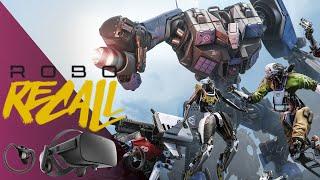 ME INVADEN LOS ROBOTS! - Robo Recall