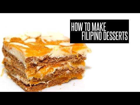 How To Make Filipino Desserts — New Year's Eve