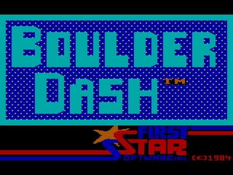 Boulder Dash (PC/DOS)1984, IBM PCjr/Tandy, EA, First Star Software