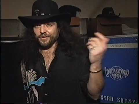 Interview with Gary Rossington - Lynyrd Skynyrd - 1992