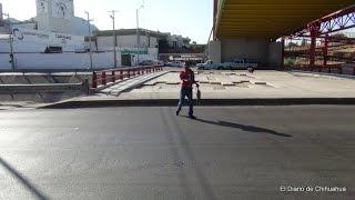 De adorno puente peatonal de La Junta