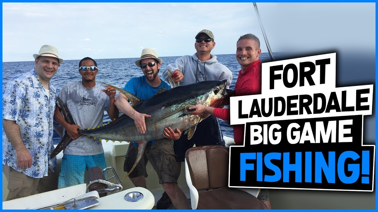Fort lauderdale fishing charters lady pamela for Ft lauderdale fishing charters